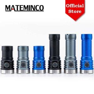 MATEMINCO MT04 Kleiner tragbarer CREE XHP50.2 13500LM 26650 Batterie Anduril UI USB Typ-C Wiederaufladbare hohe leistungsstarke LED-Taschenlampe 210608