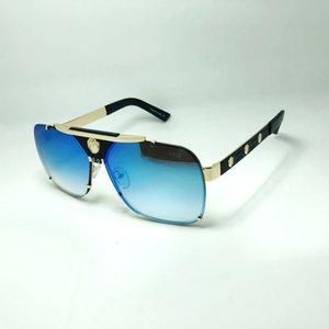 Medusa glasses designer sunglasses for men Top quality classic style luxury eyeglass european size retro UV400 HD lens mirror hot brand with box eyeglasses