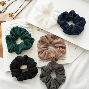 2021 Новые женские волосы шарф Screch Scrunchies Hottail держатель головы луки эластичные