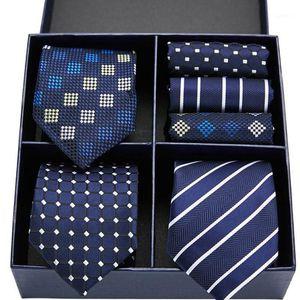 Cravatta da uomo in seta 100% Stampa floreale cravatta floreale Set di fazzoletti Set Set Novelty Designer Designer Festa di nozze Ties Ties 7.5cm1
