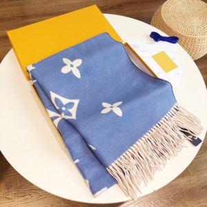 2021 Fashion brand cashmere women Geometr scarf winter warm shawl wrap bandana pashmina long tassel female foulard thick blanket 180*70