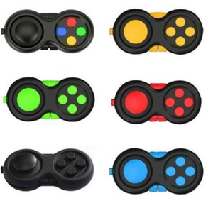 1PIECE Fidget Pad Hand Shank Handle Game Controller Squeeze Finger Toy Fun ADHD Anxiety Depression Stress Relief Handle Retail Box HH34IX0C