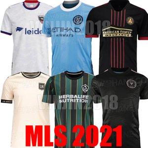 DC 2021 2022 D.C. United Los Angeles LA Galaxy Inter Miami CF Futbol Formaları 21 22 Atlanta United Lafc New York City FC Futbol Üniformaları