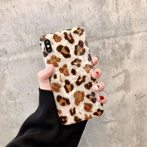 Leopard Pattern soft Mobile phone Case For iphone XR X XS Max 6 6S 7 8 Plus 11Pro Fashion Cell Phone 11 Case