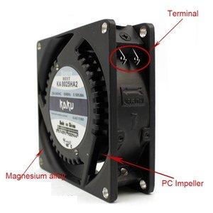 Electric Fans KA8025HA2 80*80*25mm Terminal Type Original KAKU 220V 0.10 0.06A Axial Fan Cooling