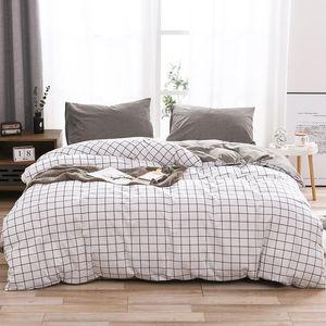 Bedding Sets 40 100% Cotton Comforter Set Bed Cover Queen King Nordic Duvet Bedclothes Quilt Pillowcase Home Textile