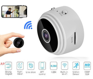 A9 1080P Full HD Mini Spy Video Cam WIFI IP Wireless Security Hidden surveillance Cameras Indoor Home