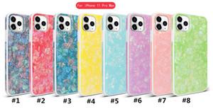 Für iPhone 11 PRO MAX 6 7 8 PLUS X XR xs Max Marmor Textur Telefongehäuse Conch Shell Textur Stoßfest Schutzabdeckung