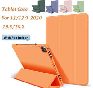 Silicone Tablet Case For Ipad 12 9 11 2020 Ipad 10 2 10 5 Magnetic Smart Cover Folio Case For Ipad Pro 12.9 With Pencil Holder 0I5Su I7Bvn