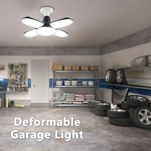 2021 New Bright Industrial Lighting Super 120w E27 Led Light 360-degree Deformable Fan's Garage d High Lamp From the 61kc