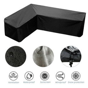 Garden Patio Protective Cover Oxford Cloth Furniture Dustproof Cover For Rattan Table Cube Chair Sofa Waterproof Rain
