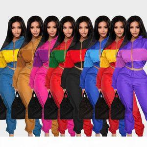 2021 Women Clothes 2 Two Piece woman Set Outfits womens sweat suits Plus Size Jogging Sport Suit Soft Long Sleeve Tracksuit Sportswear