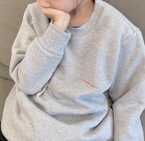 Mode enfants Sweatshirts Automne Hiver Pull à manches longues Tops Garçons Filles Hip Hop style lettres imprimées Hoodies Vêtements enfants
