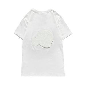 T-Shirts Mode Männer Frauen Sommer T Shirts Brief Muster Drucken Herren Kurzarm Atmungsaktive Tops