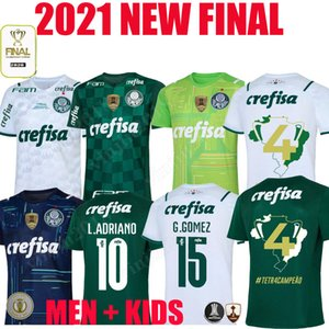 1 22 Camisas Palmeiras Soccer Jersey G.Gomez G.veron L.Adriano Ramires Dudu 2021 2022 Libertadores Converse Copa Do Brasil Football Shirts