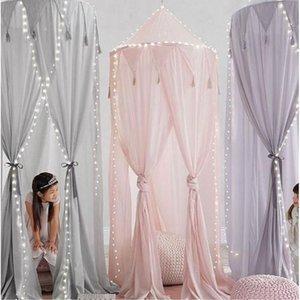 Mosquito Net Chiffon Cotton Baby Canopy Anti Princess Bed Girls Room Pest Control Reject DA