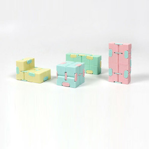 Infinity Magic Cube Square Puzzle Toys Relieve Stress Funny Hand Game Four Corner Maze Toys Children Adult Decompression Toy