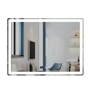 60x80cm Rectangular LED bathroom mirror hotel bathroom toilet with lamp mirror anti-fog smart with touch