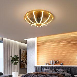 Ceiling Fans Modern Restaurant Fan Lamp, High Brightness Remote Control Fan, Family And Living Room Fan.