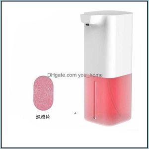 Bathroom Aessories Bath Home & Gardenmatic Touchless Liquid Dispenser Pump Sanitizer Hand Soap Dispensers 350Ml Plastic Bottle Owd8515 Drop