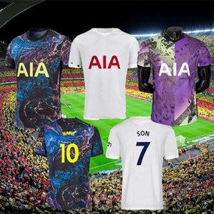 21 22 DELE SON TOTTENHAM BALE KANE soccer jersey HOJBJERG BERGWIJN LO CELSO SPURS 2021 2022 LUCAS football shirts uniforms men + kids kit 999