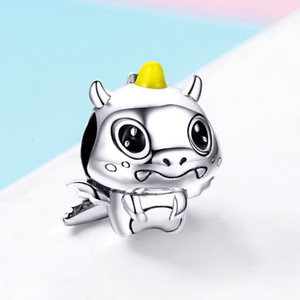 In 2019, codemonkey 925 pure si er Charm Beads with original design and pendant can be made into jewelry 060
