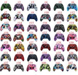 새로운 게임 컨트롤러 스킨 소프트 젤 실리콘 보호 커버 Xbox One 용 고무 그립 케이스