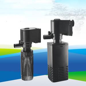 4W 6W Aquarium Pompe à eau Filtre Trois-en-un Cycle d'eau Cycle de Cylindre silencieux intégré Aération de poisson Équipement agricole