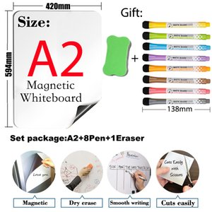 Soft Magnetic Whiteboard Arc Angl A2 Size 16.5