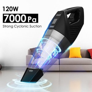 Kranich Portable HandHeld Wireless Car Vacuum Cleaner 7000Pa Lightweight Hand Stick Cordless Rechargeable home Aspirator Vacum