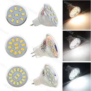 LED Bulb SMD5730 9LED 12LED 15LED Quartz Glass AC DC 9V-30V MR11 Replace Halogen Lamp For Crystal Chandeliers Pendant Floor Lights EUB