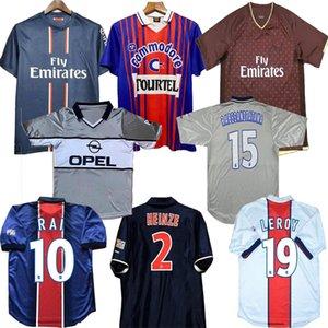 93 94 95 96 Retro Futebol Vertores Okocha Leroy Adailton 1998 1999 2000 90 92 Classic Rai Camisas de Futebol