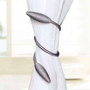 Vorhang Raffbacks Polyester Legierung Hängende Gürtel Seile Vorhang Holdback Schnallen Verschlussclips Zubehör Hakenhalter Neu