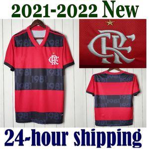 Neue 2021 2022 Flamengo Fussball Jerseys Flamenco Camisetas de Fútbol Gabriel B. Diego 21 22 Pedro Gerson Männer Kinder Frauen Fussball Hemd