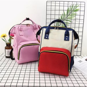 Fashion Large-capacity School Bag Backpack Mother and Baby Bags Leisure Outing Baby Pregnant Woman Mommy Student