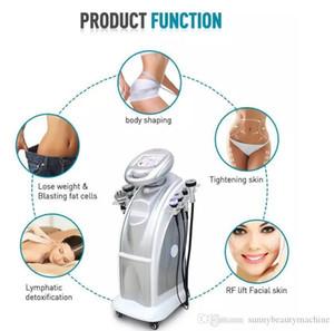 80K cavitation RF Ultrasonic Lipo Vacuum machine weight loss Body Slimming Beauty Machine with 7 handles free tax and free shipment