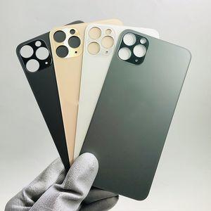 품질 전화 뒷면 배터리 커버 iPhone 11 Pro 11Pro 최대 하우징 수리 후방 금이 간 유리 교체