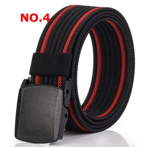 Canvas Military Web Belt Metal Roller Buckle Mens Womens Causal Cloth Decor Jeans Accessories 8 Colors