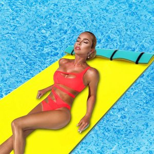Inflatable Floats & Tubes Floating Pad Summer Large Outdoor Tear-Resistant XPE Foam Swimming Pool Water Blanket Float Mat Bed Mattress