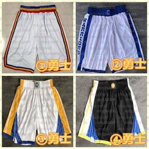 Mens 2021 team Basketball Shorts MilwaukeeBucksStitched Pocket Shorts Golden StateWarriorsBlazersSweatpants Sport