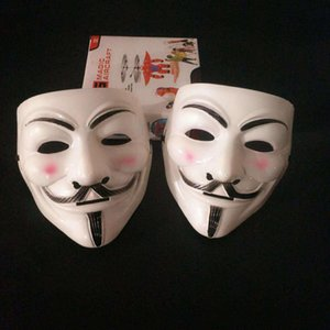 V word vendetta mask multicolor cosplay mask anonymous movie gay fox halloween masquerade mask holiday supplies gift