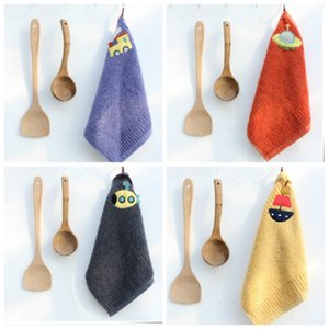 Man di er towel pure cotton water absorbent does not lose hair cotton children's towel hanging face washing household towel S23