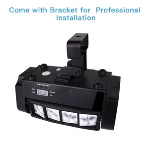 Moving head light, the big dipper LM30A 8 x3w RGBW DJ lights quickly double cleaners stage lights, disco lights