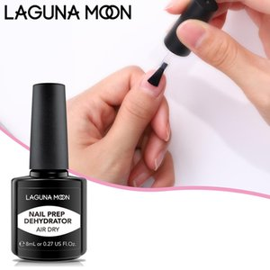 LAGUNAMOON Professional Nail Prep Dehydrator Nails Polish For Acrylic Powder Gel Lacquer Manicure Pedicure Salon 8ml