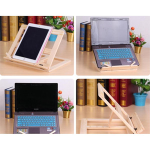 Adjustable Portable Wood Book Stand Holder Wooden Bookstands Laptop Tablet Study Cook Recipe Books Stands Desk Dr jllNSD sport77777