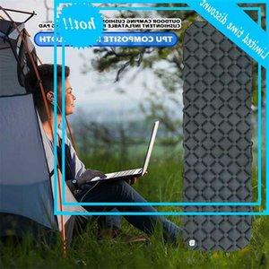 TPU Tapis gonflable Camping en plein air Portable Sommeil étanche Piste de couchage Embrasser Aile à air pour randonnée Randonnée