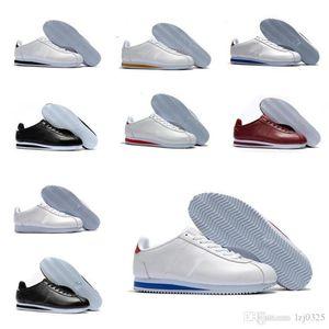 2021 mejores zapatos de cortez nuevos para hombre zapatos para mujer zapatillas de deporte de cuero atlético barato CORTEZ CORTEZ ORIGINAL CORTEZ SALE DE ZAPATOS 36-44 A1X-194 P186