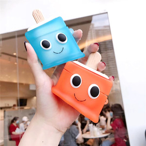 Cute 3D Summer Ice Cream Earphone Case For Apple Airpods 3 Pro Cases Silicone for AirPods 2 1 Bluetooth Headset Protection Cover