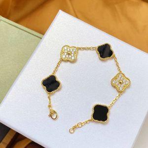 Bracelet love Bangles Charm Bracelets cleef Earring Screw bracelet Couple Gift van women Designer Jewelry carti rings [With box] a24