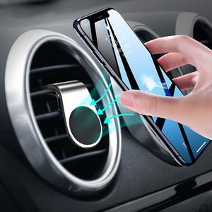 Araba Dashboard Telefon Dağı Tutucu Oto Yerçekimi Mobilephone Klip Tutun Hava Firar Klip Montaj Standı Manyetik Telefon Sahipleri iPhone için